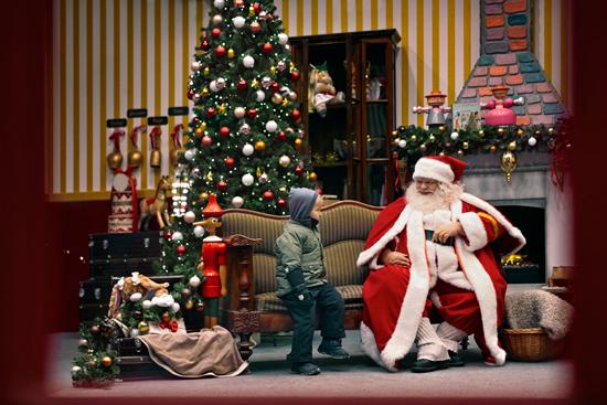 Kig forbi og hils på julemanden