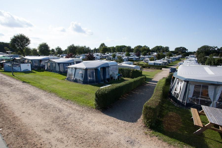 Frigård Camping er en stor - men hyggelig - campingplads med mange tilbud