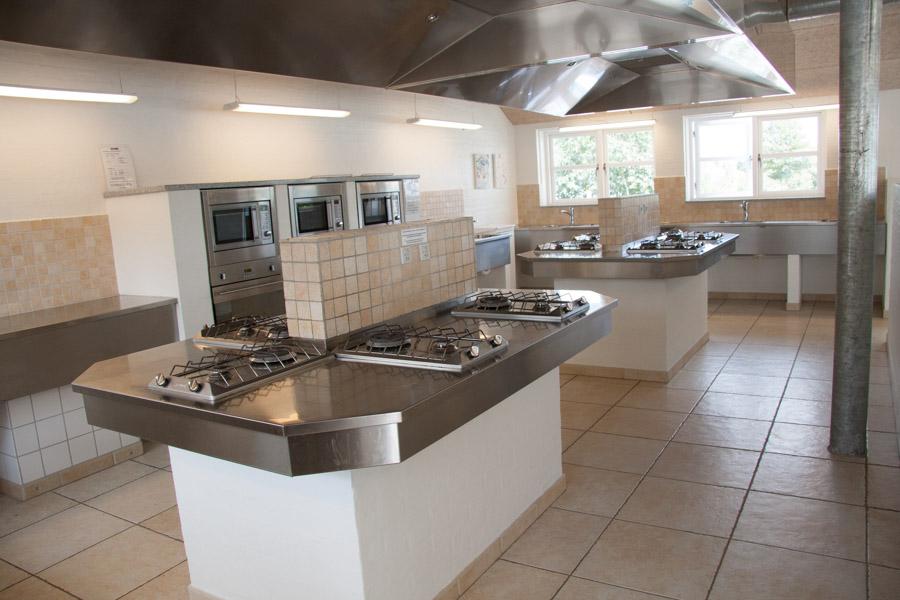 Frigård Camping har fine køkkenfaciliteter