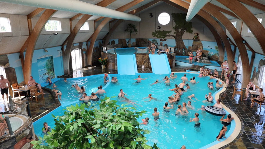 Badelandet på Hasmark Strand Camping har åbent under hele festivalen