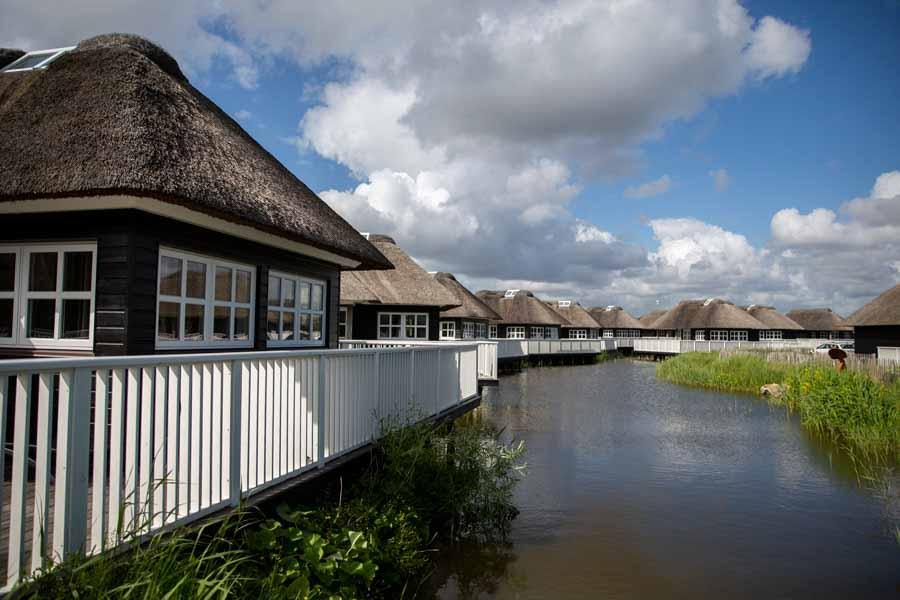 Fiskerhusene er nogle helt fantastisk beliggende hytter
