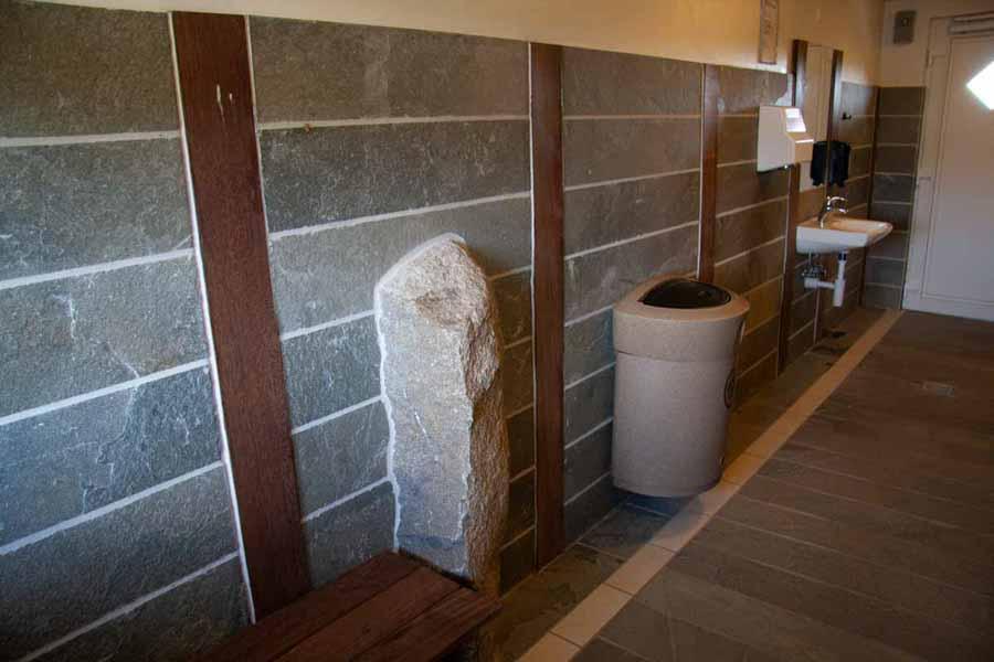 Toiletterne og baderummene er rigtigt flotte