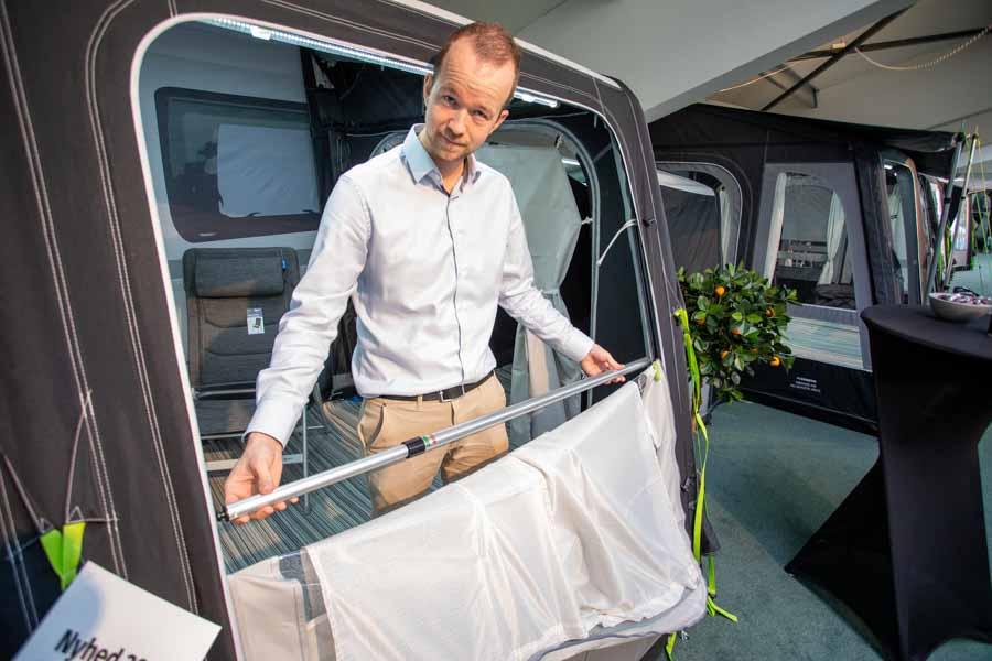 Dometic Nyheder 2021 - Ny smart veranda stang