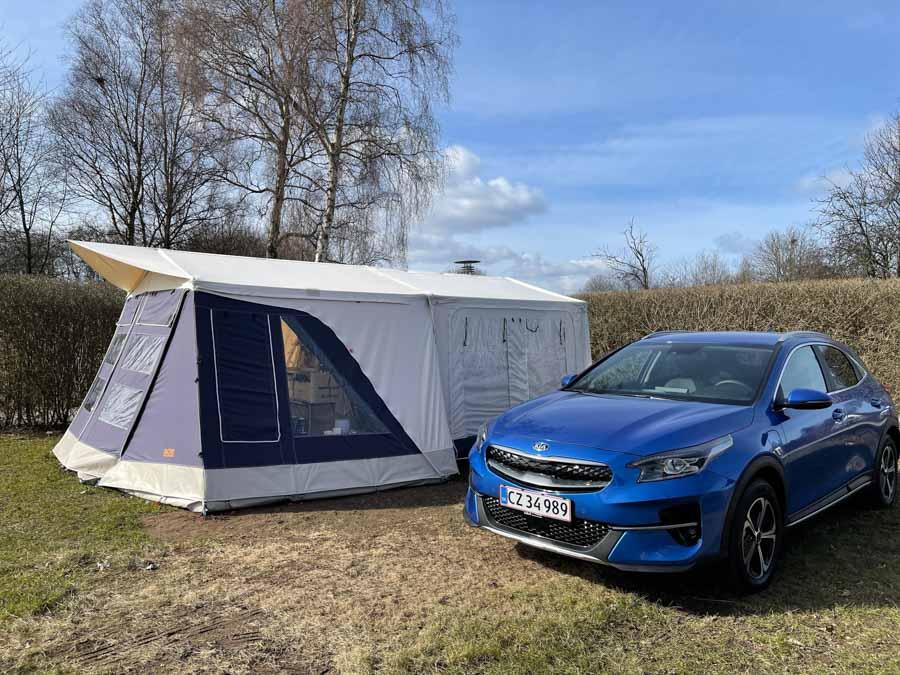Vi hygger i vores Combi-Camp
