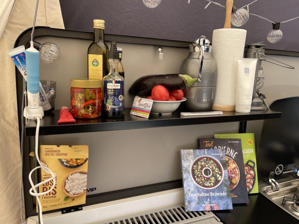 Lidt kaos i køkkenet