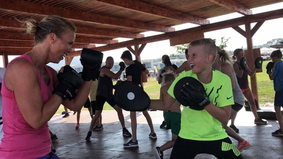 Isabella FamiliePower er træning for hele familien