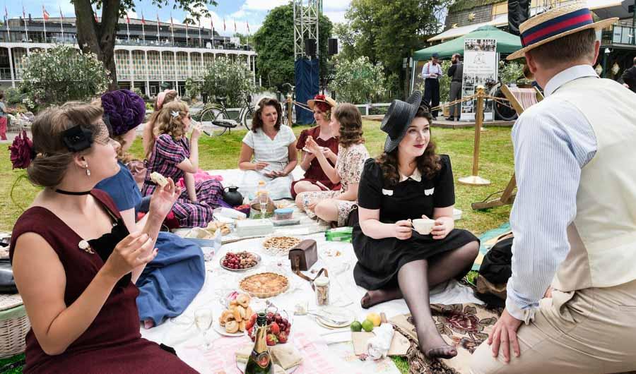 Vintage Garden Party i Tivoli på søndag