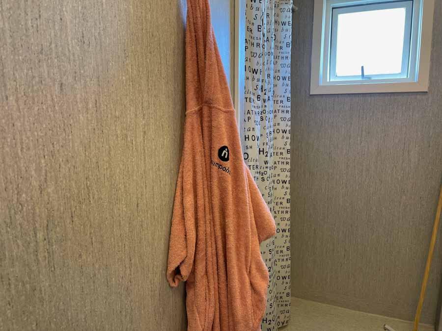 Jeg bruger min Swimponch når jeg skal i bad
