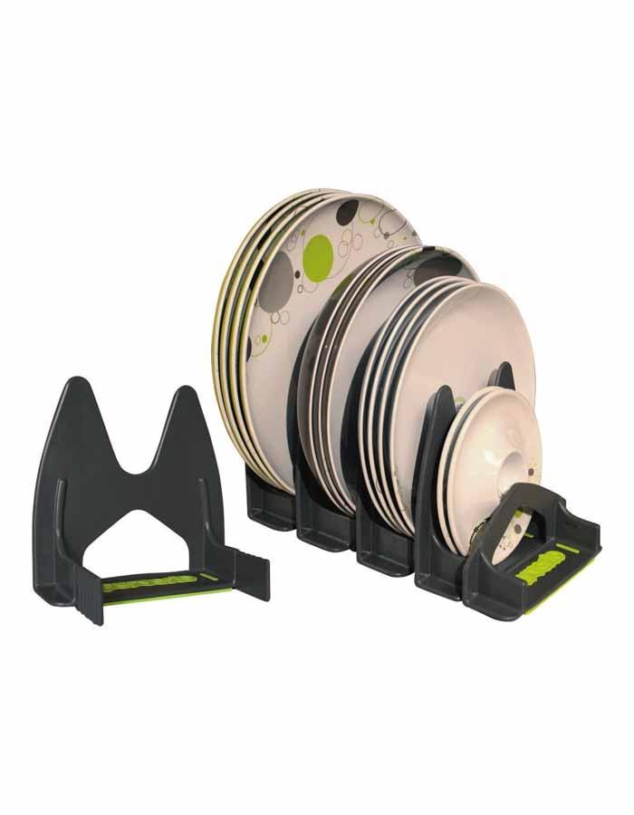 Purvario tilbyder forskellige tallerken opbevaringsløsinger